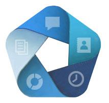 interface professionnelle d'envoi de SMS