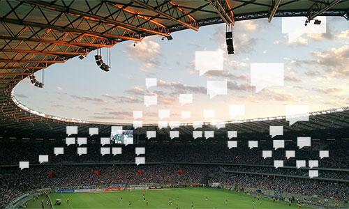 le SMS pour communiquer lors des événements sportifs