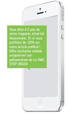 la géolocalisation par SMS