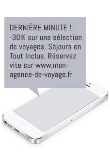 publiclté SMS pour le secteur touristique