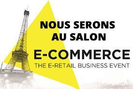 Retrouvez-nous du 12 au 14 septembre au E-commerce Paris!