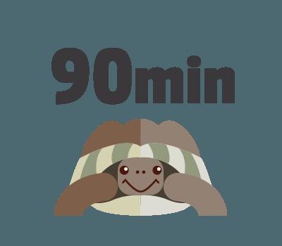 lecture d'un mail : 90 minutes