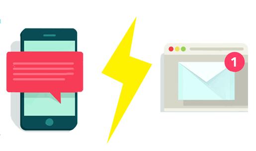 SMS versus Mail : le comparatif