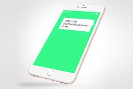 L'authentification forte par SMS avec le One Time Password (OTP)