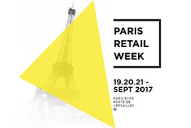 Nous serons au Paris Retail Week 2017 !