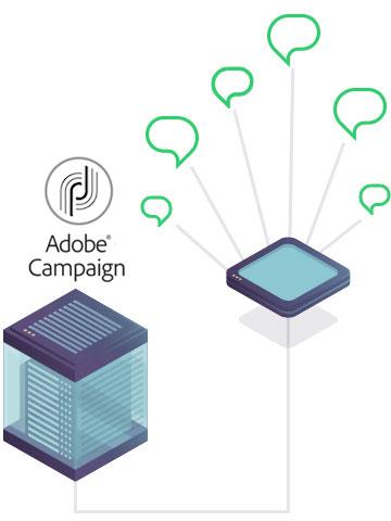 Connexion SMS Adobe Campaign