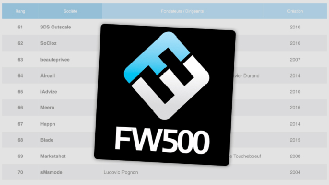 smsmode rendtre dans le FW500