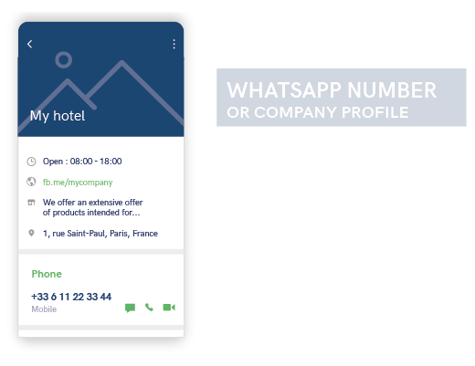 WhatsApp Company profile