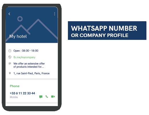 WhatsApp Unternehmensprofil