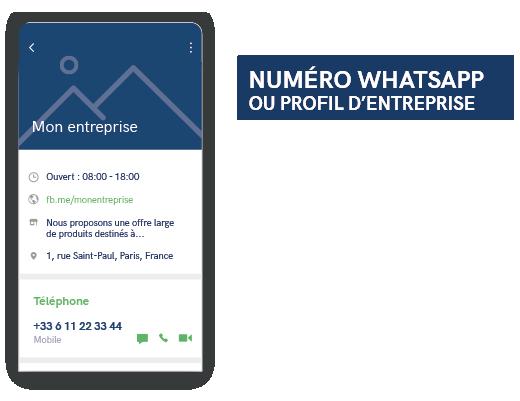 profil d'entreprise WhatsApp