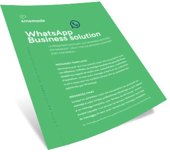 fiche documentation WhatsApp Business Solution