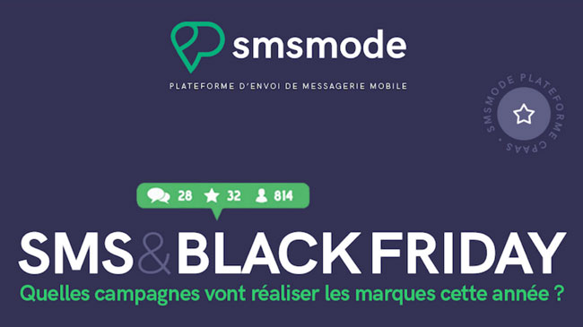 infographie SMS & Black Friday